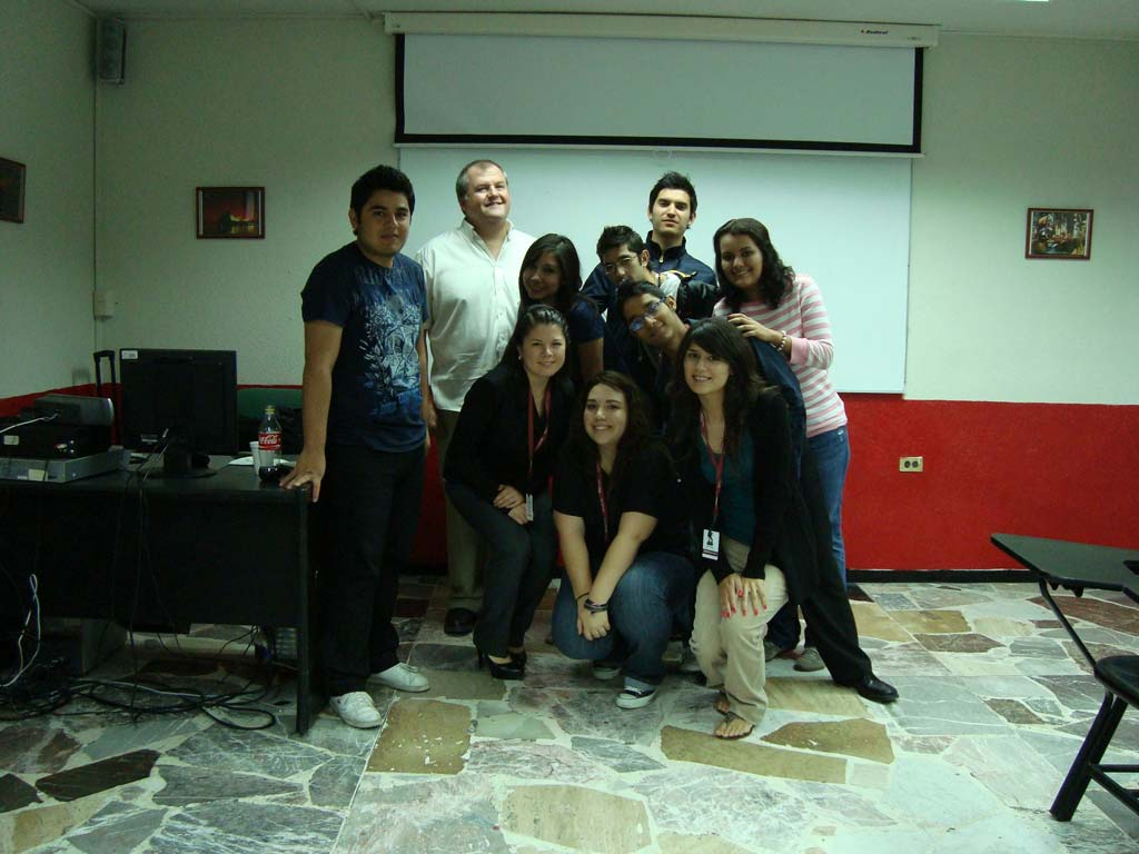 First CityU Instructor at Partner Site in Monterrey, Mexico