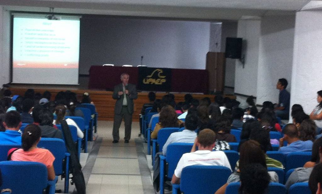 Teaching in Puebla