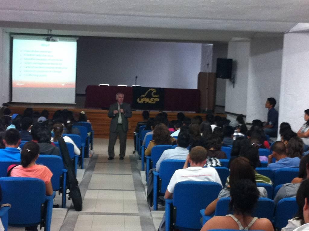 Teaching in Puebla