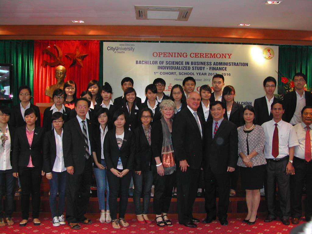 City University of Seattle Forms Educational Partnership  with The Banking Academy of Vietnam