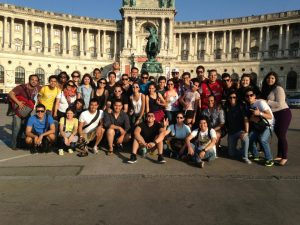 Group pic in Vienna