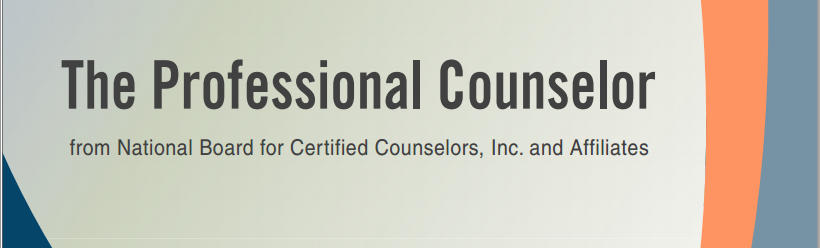 CityU Faculty Published in The Professional Counselor Journal
