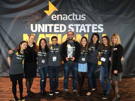Enactus Team Takes Third at National Exposition