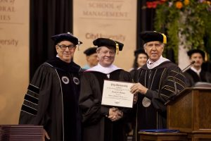 Presentation of the Doctor of Humane Letters