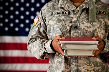 Named a Top School in Military Advanced Education Research Study