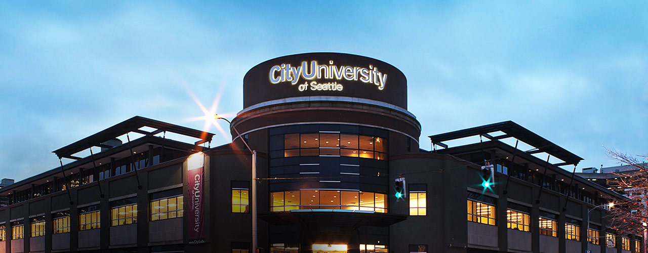 City University Seattle main campus building
