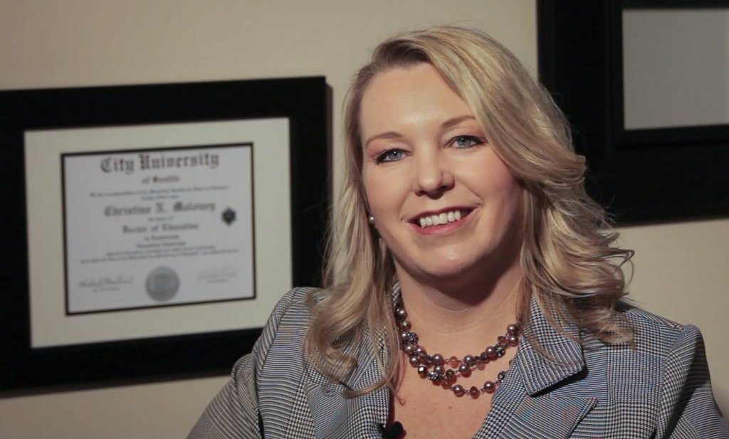 Student Profile: Christine Moloney, Doctor of Education in Leadership