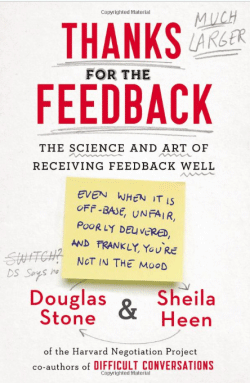 "CityU Library Reviews ""Thanks for the Feedback: The Science and Art of Receiving Feedback Well"""