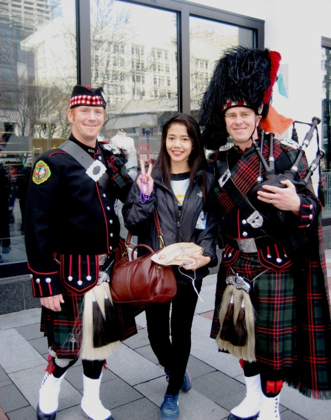 St. Patty's Day Parade with Bagpipers WAL