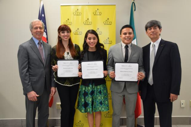CityU Support Student Achievement by awarding CETYS-CityU Presidential Scholarships