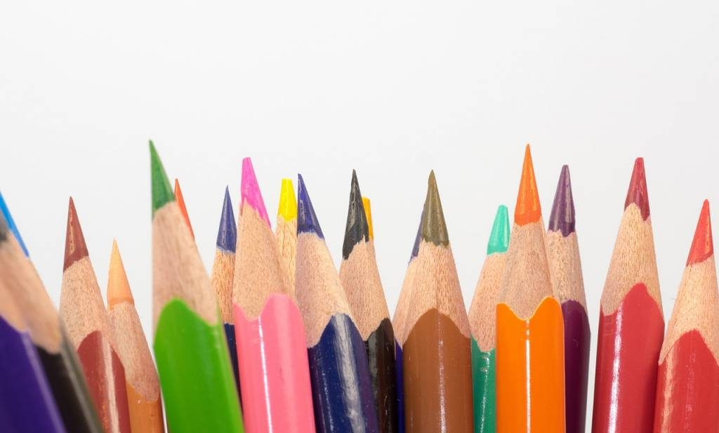 colored boldest pencils