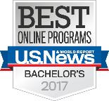 2017 Best Online Bachelor's Programs logo
