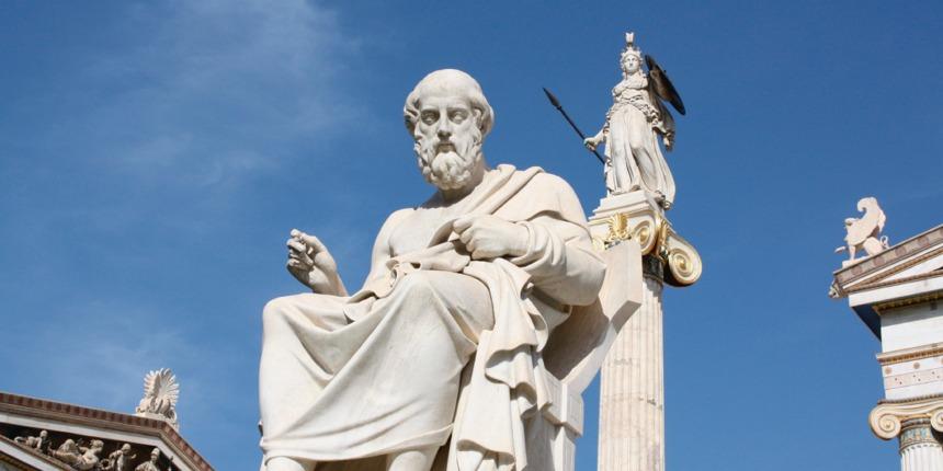 Plato and Athena