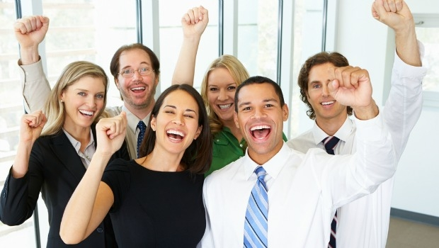 Happy-office-workers