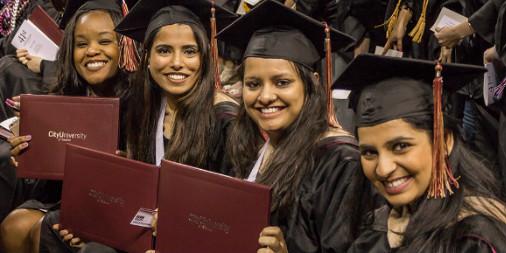 CityU Graduates holding more diplomas