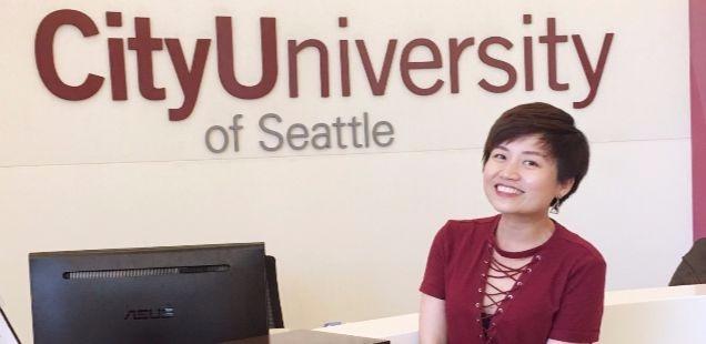 Kay Le at CityU