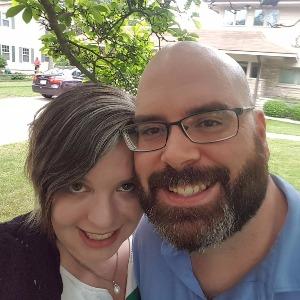 Melissa and her husband, Tim.