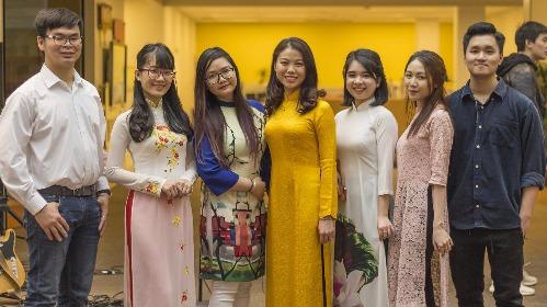 Vietnamese Student Association leaders