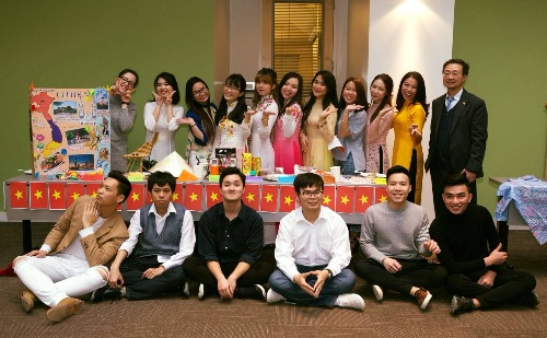 Vietnamese Student Association Members