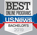 Best Online Bachleor's Programs 2018 U.S. News logo
