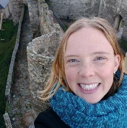 Christina Tkacs while living in Spain.