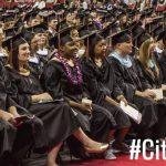 Graduates Listening To Speech