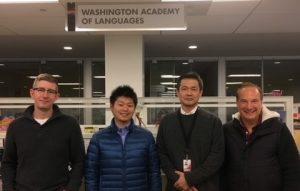 Adam McGarity, Wataru, Hideki Aikoh, and Matt Raudsep