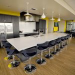 20th-floor kitchen space