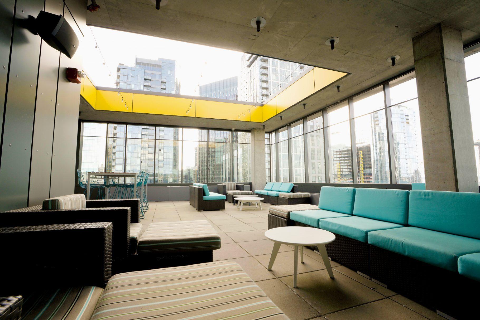 20th-floor deck