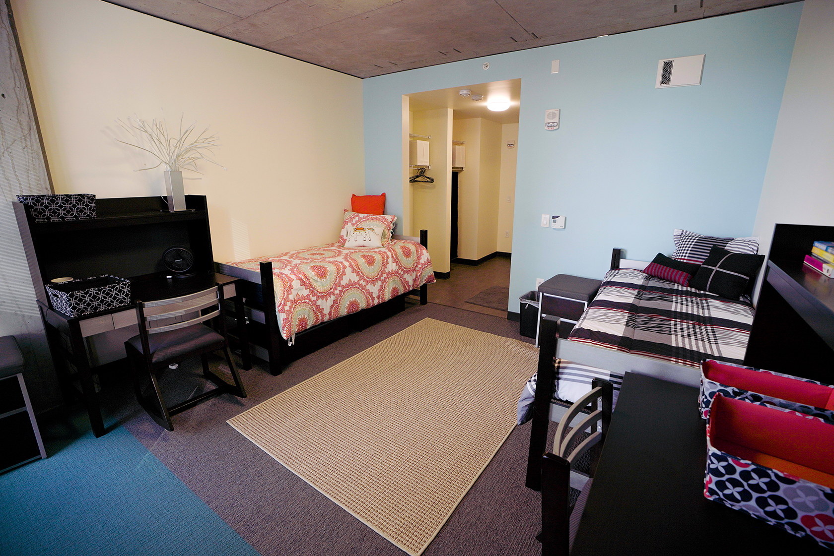 Resident room at Cornish Commons