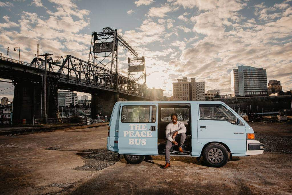 CityU Alumnus uses his MBA to create the Peace Bus