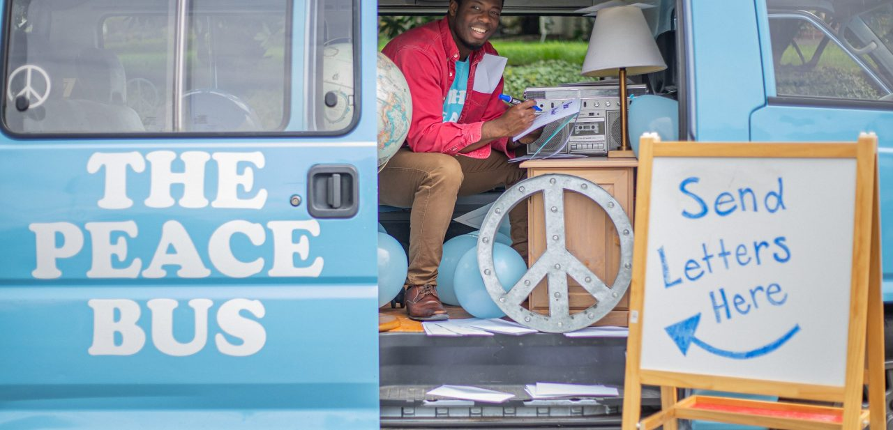 The Peace Bus: CityU Alumnus Continues Rolling Forward by Supporting His Community